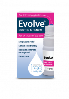 Evolve Soothe & Renew 10ml Eye Drops