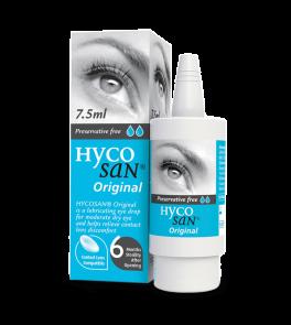 Hycosan Original Eye Moisturiser 7.5 ml eye drops