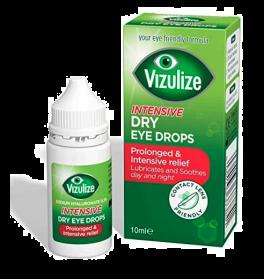 Vizulize prolonged relief, Intensive Dry Eye Relief Drop, 10ml