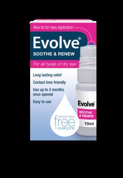 Evolve Soothe & Renew 10ml Eye Drops